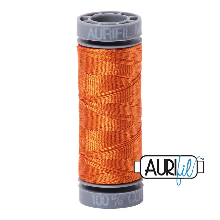 Aurifil Cotton 28wt, 2150 Pumpkin