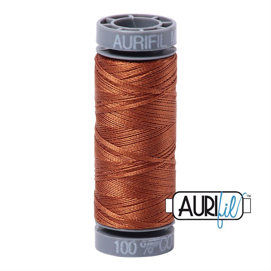 Aurifil Cotton 28wt, 2155 Cinnamon