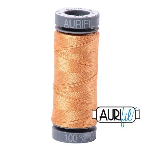 Aurifil Cotton 28wt, 2214 Golden Honey