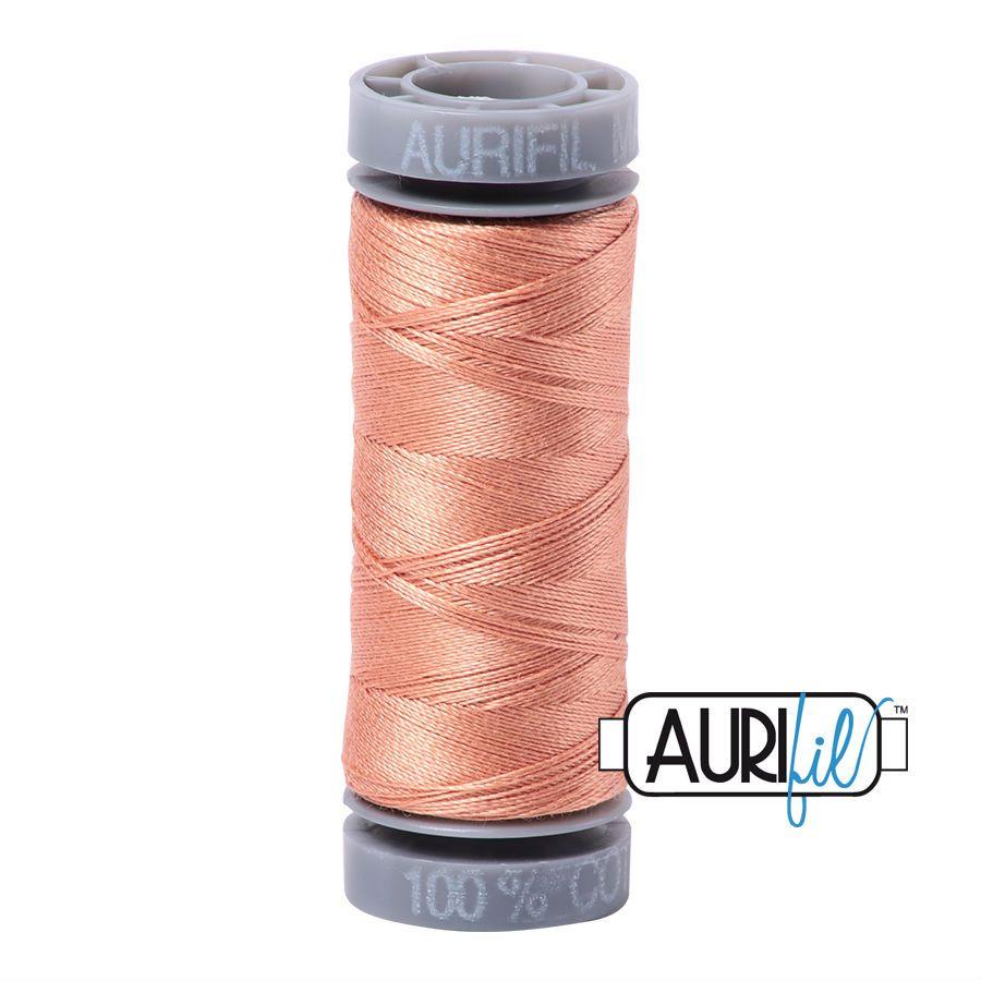 Aurifil Cotton 28wt, 2215 Peach