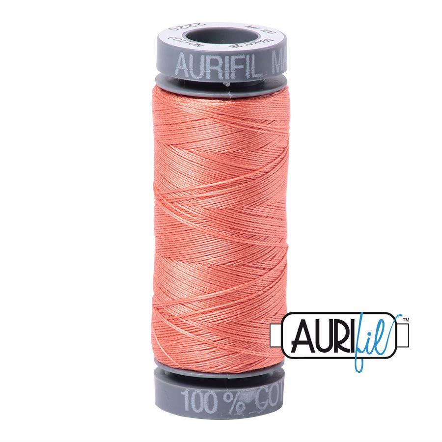 Aurifil Cotton 28wt, 2220 Light Salmon