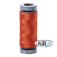 Aurifil Cotton 28wt, 2240 Rusty Orange