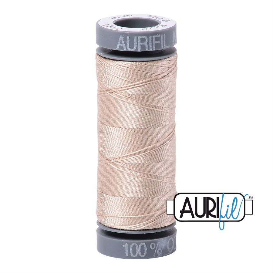 Aurifil Cotton 28wt, 2312 Ermine