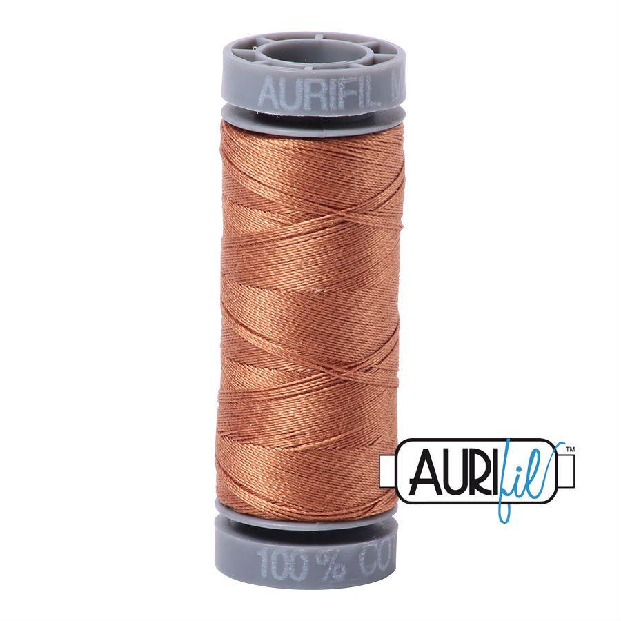 Aurifil Cotton 28wt, 2330 Light Chestnut