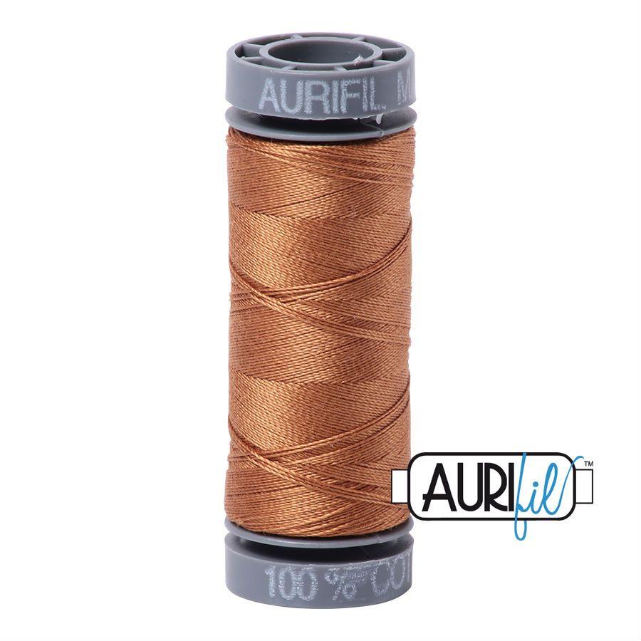 Aurifil Cotton 28wt, 2335 Light Cinnamon