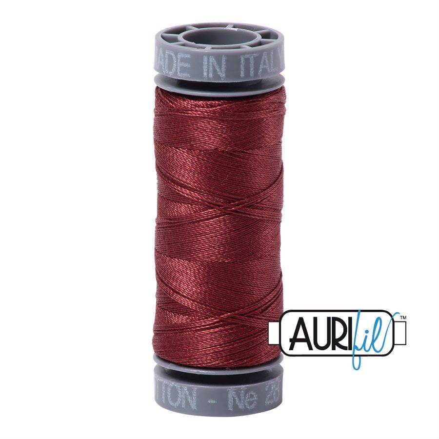 Aurifil Cotton 28wt, 2345 Raisin