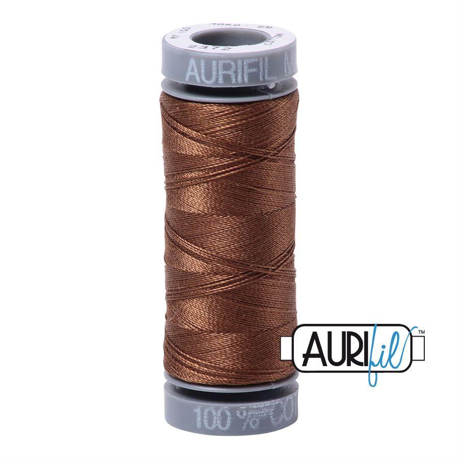 Aurifil Cotton 28wt, 2372 Dark Antique Gold