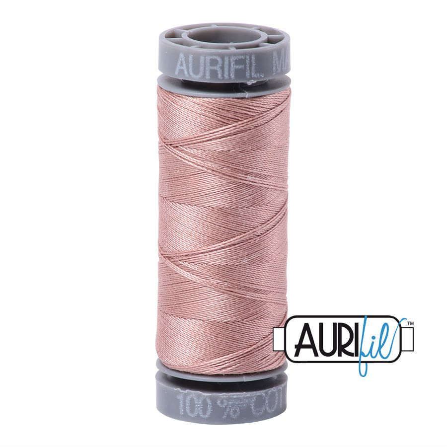 Aurifil Cotton 28wt, 2375 Antique Blush
