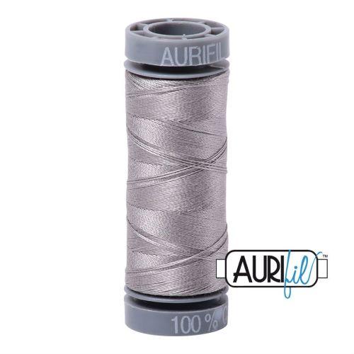 Aurifil Cotton 28wt, 2620 Stainless Steel