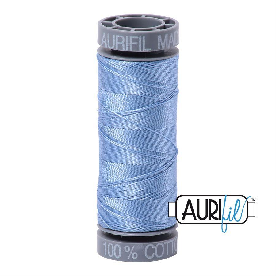 Aurifil Cotton 28wt, 2720 Light Delft Blue