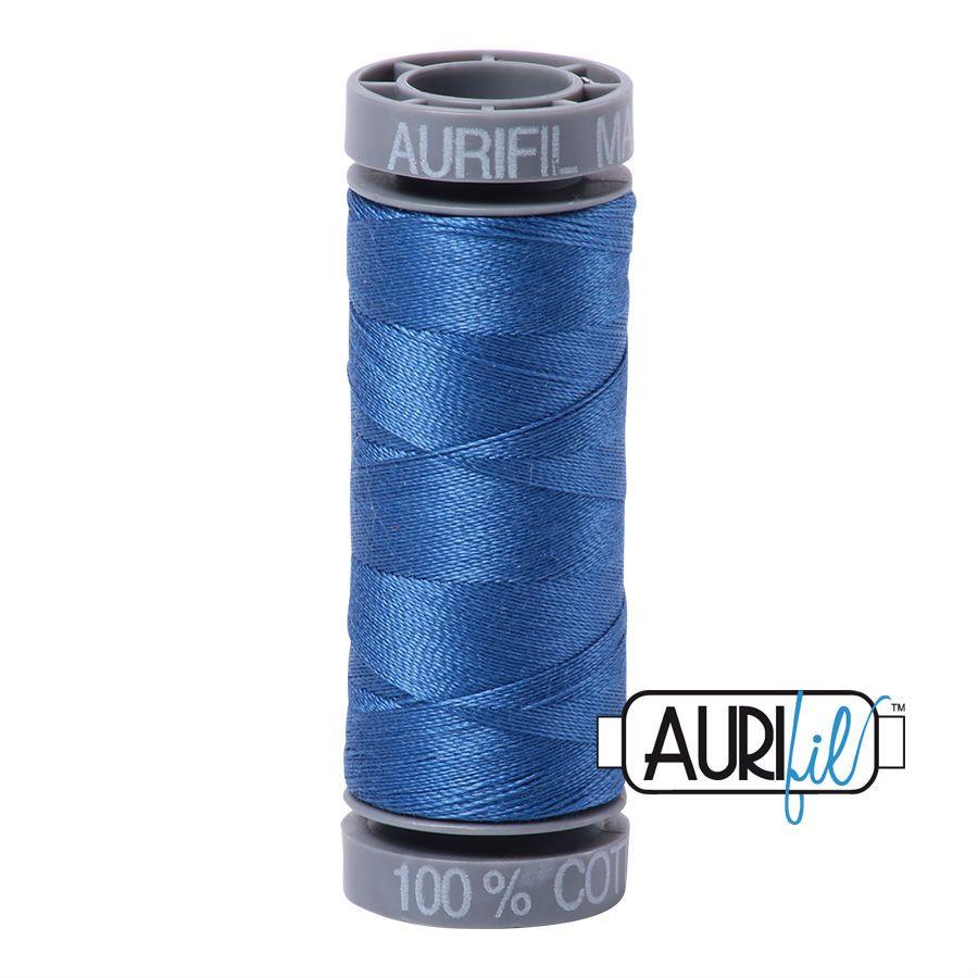 Aurifil Cotton 28wt, 2730 Delft Blue