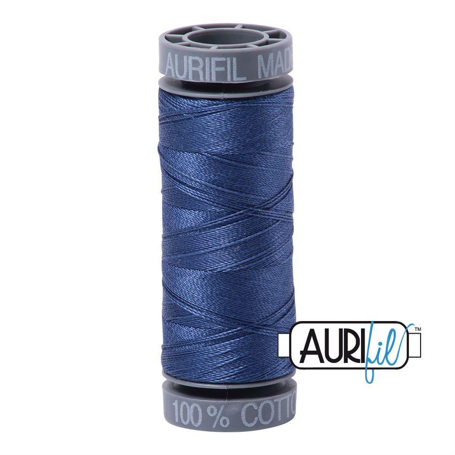 Aurifil Cotton 28wt, 2775 Steel Blue