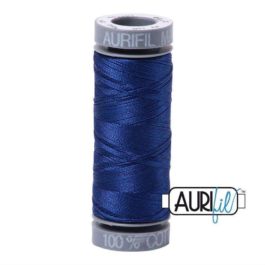 Aurifil Cotton 28wt, 2780 Dark Delft Blue