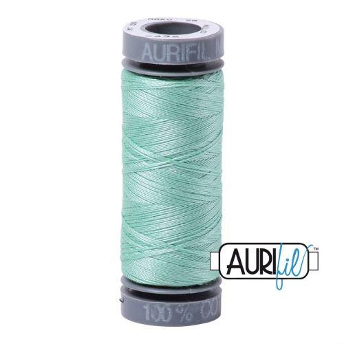 Aurifil Cotton 28wt, 2835 Medium Mint