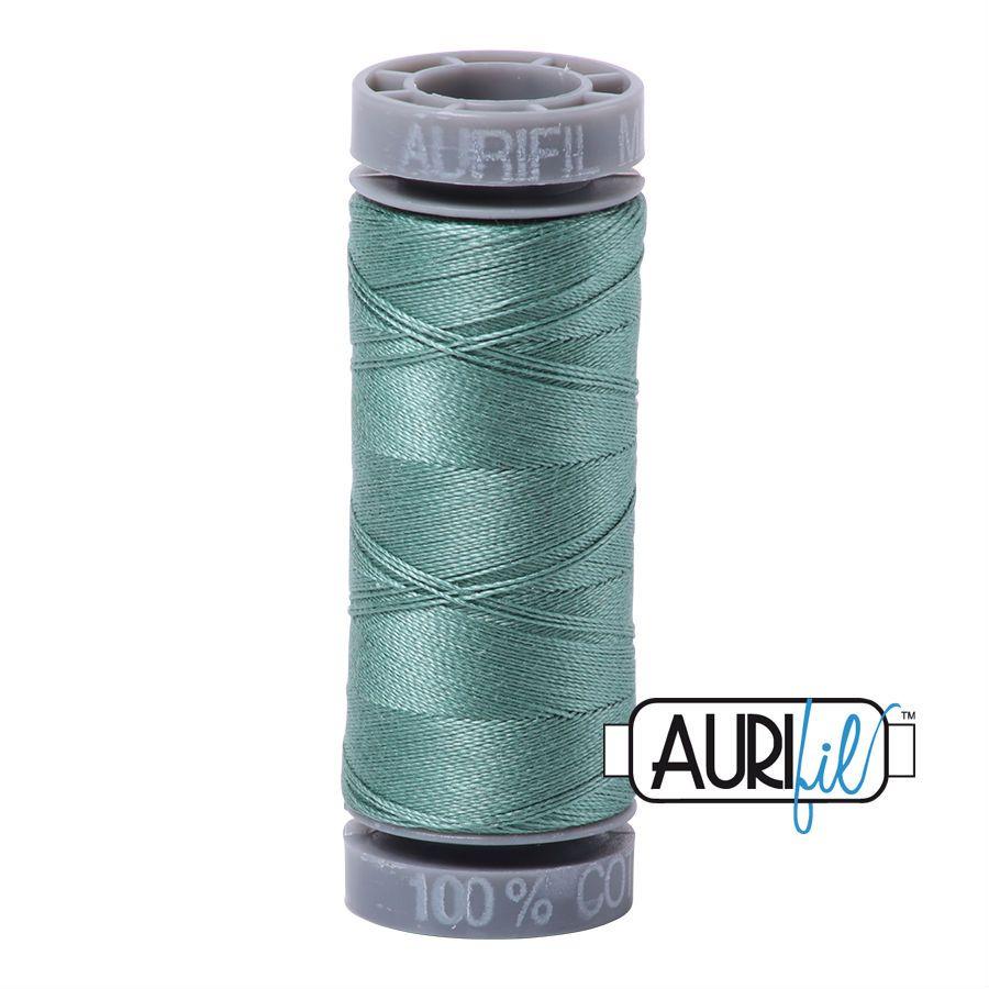 Aurifil Cotton 28wt, 2850 Medium Juniper