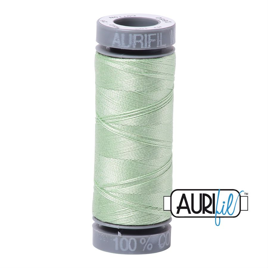 Aurifil Cotton 28wt, 2880 Pale Green