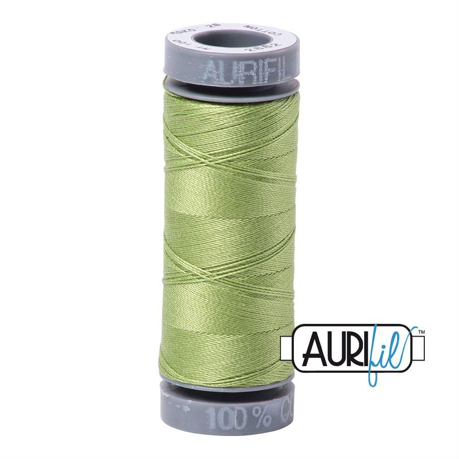 Aurifil Cotton 28wt, 2882 Light Fern
