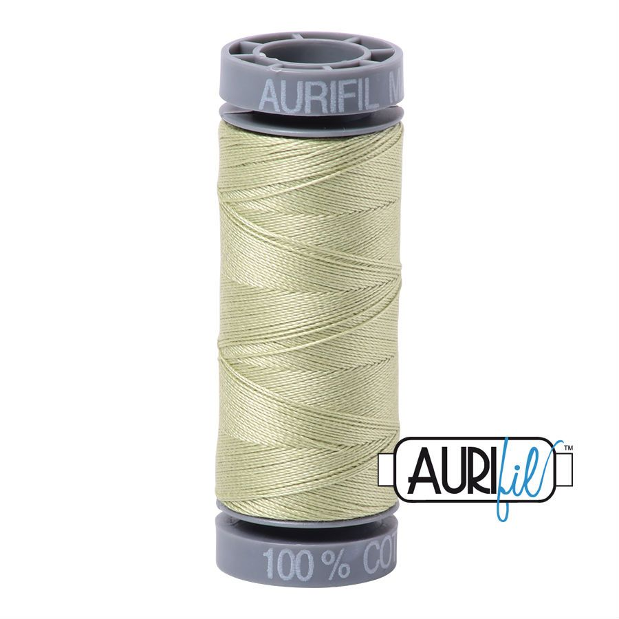 Aurifil Cotton 28wt, 2886 Light Avocado