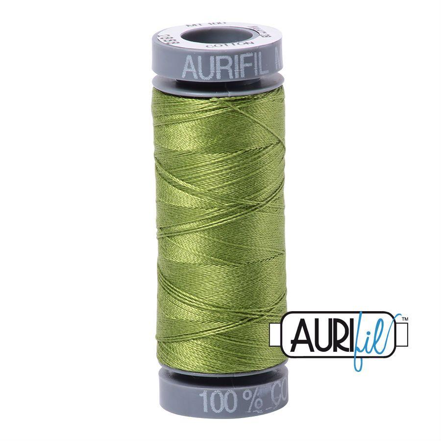 Aurifil Cotton 28wt, 2888 Fern Green