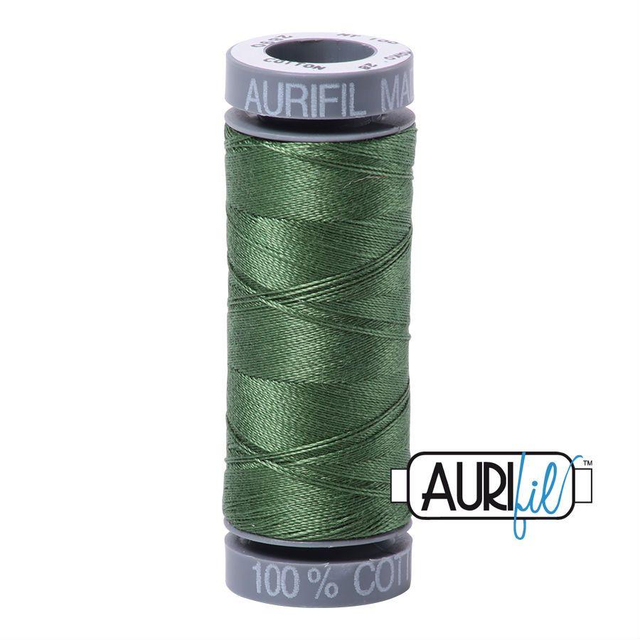 Aurifil Cotton 28wt, 2890 Very Dark Grass Green