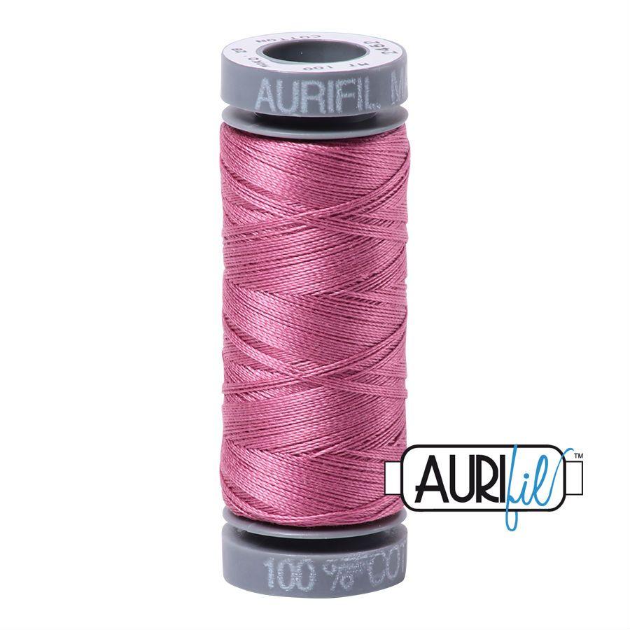 Aurifil Cotton 28wt, 2452 Dusty Rose