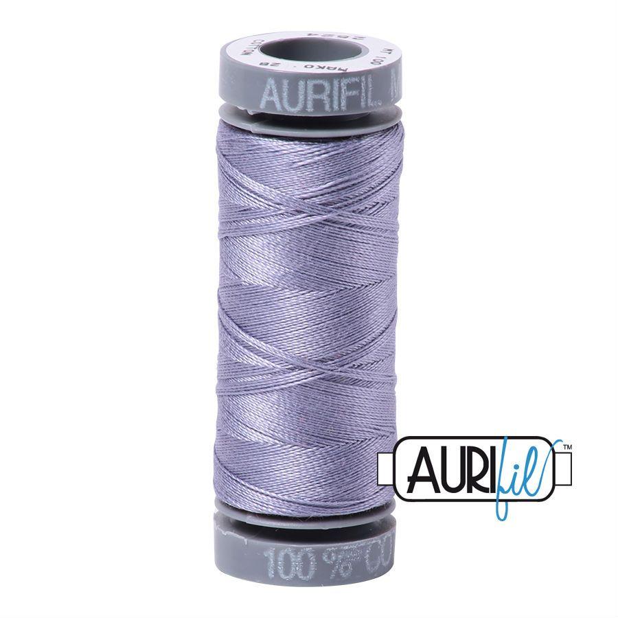 Aurifil Cotton 28wt, 2524 Grey Violet