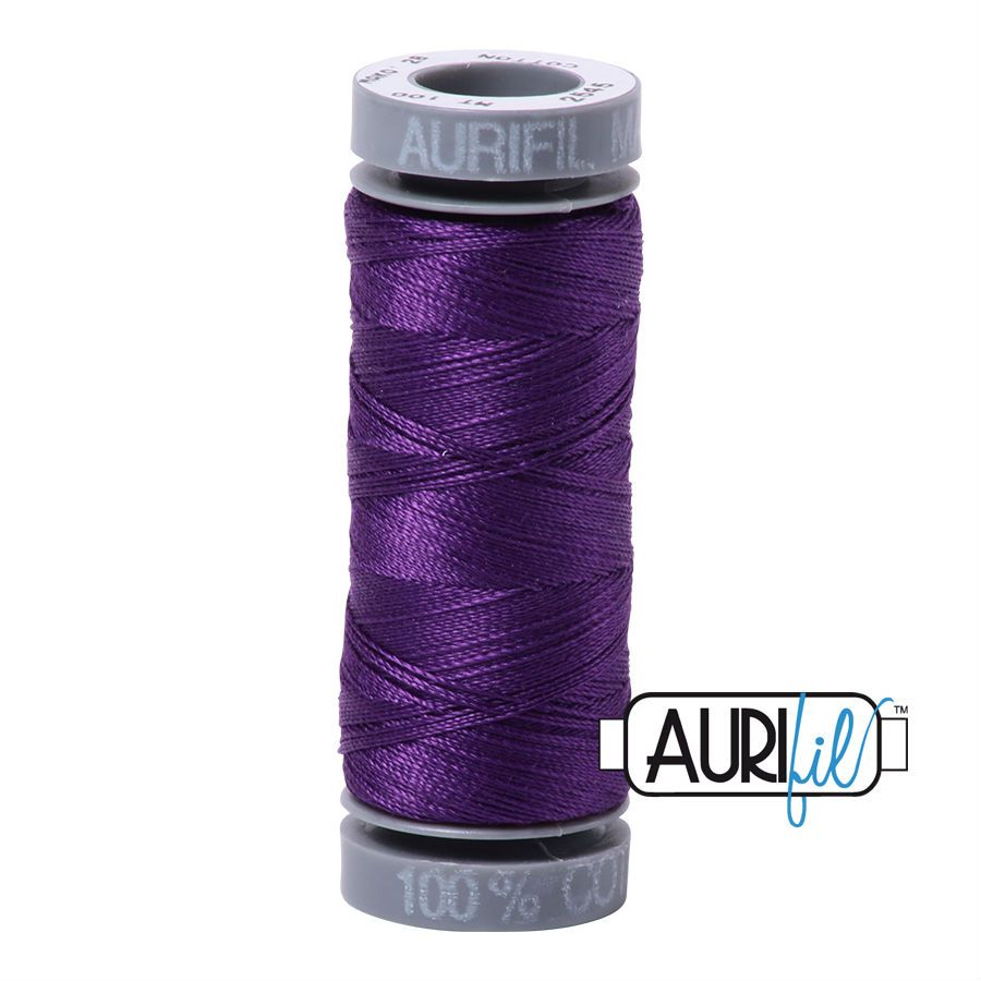 Aurifil Cotton 28wt, 2545 Medium Purple