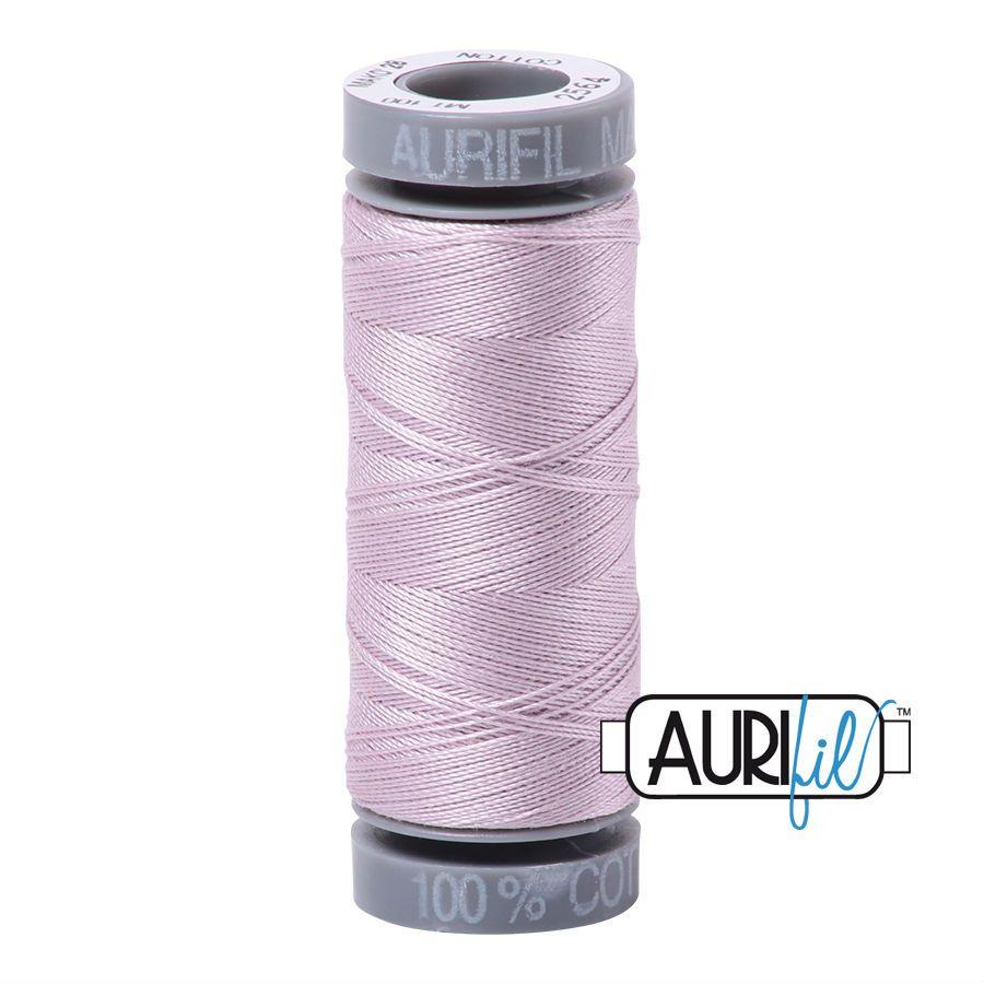Aurifil Cotton 28wt, 2564 Pale Lilac