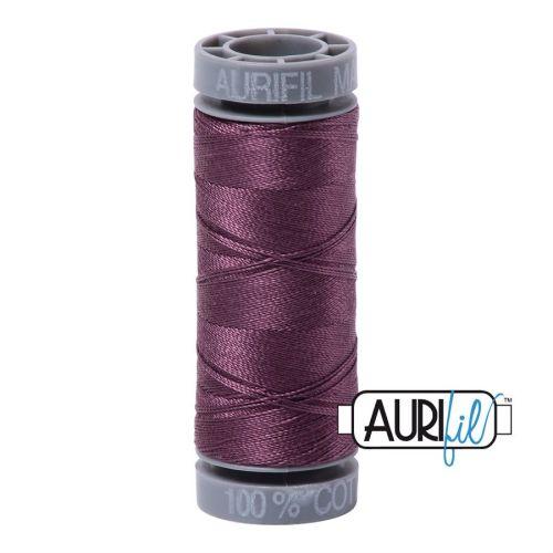 Aurifil Cotton 28wt, 2568 Mulberry
