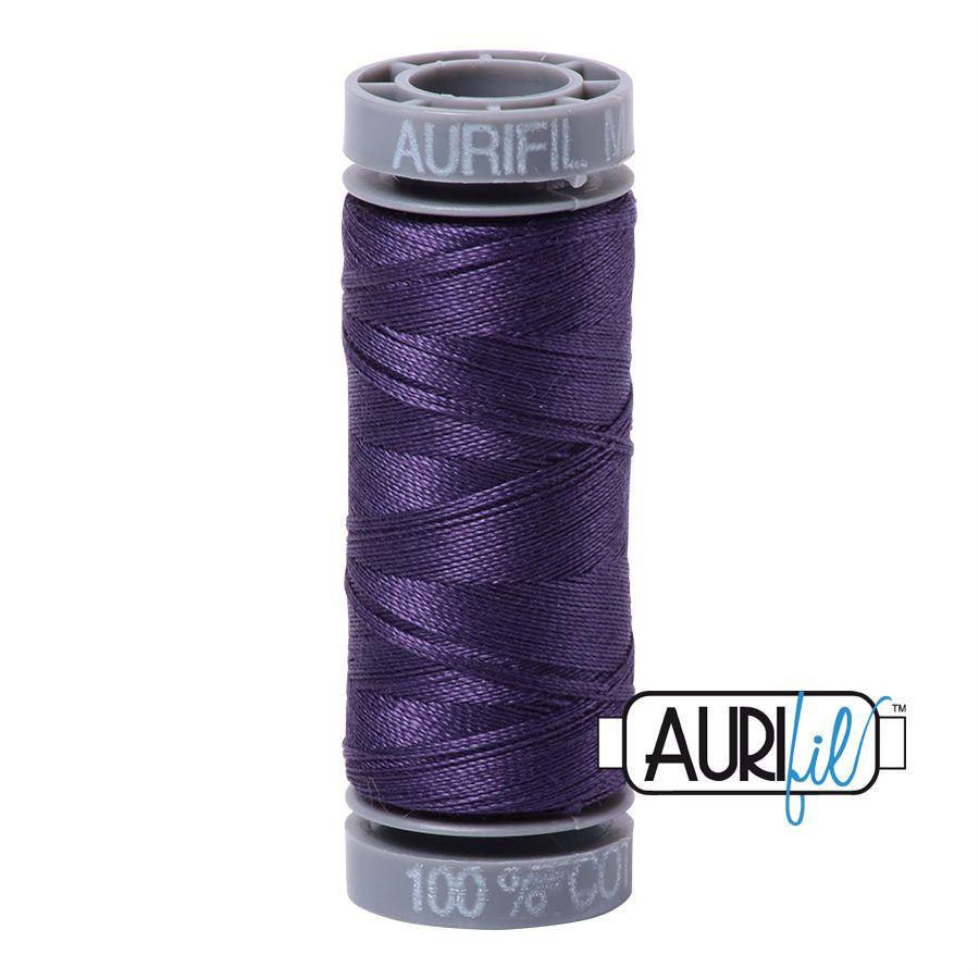 Aurifil Cotton 28wt, 2581 Dark Dusty Grape