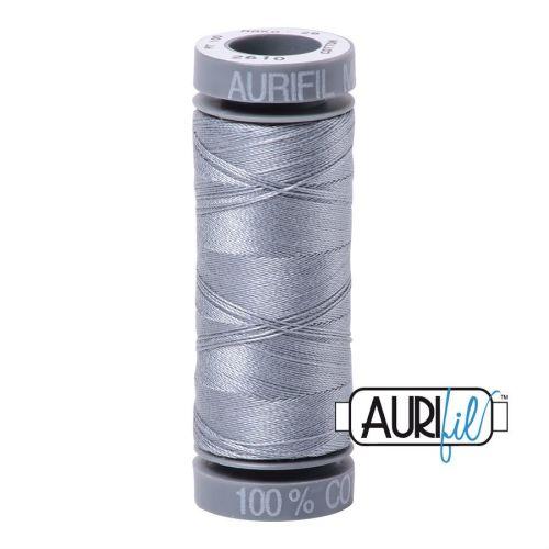 Aurifil Cotton 28wt, 2610 Light Blue Grey
