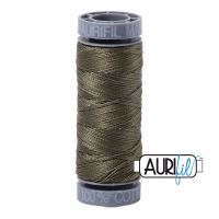 Aurifil Cotton 28wt, 2905 Army Green