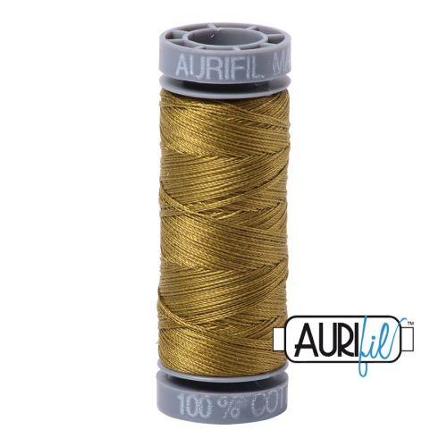 Aurifil Cotton 28wt, 2910 Medium Olive