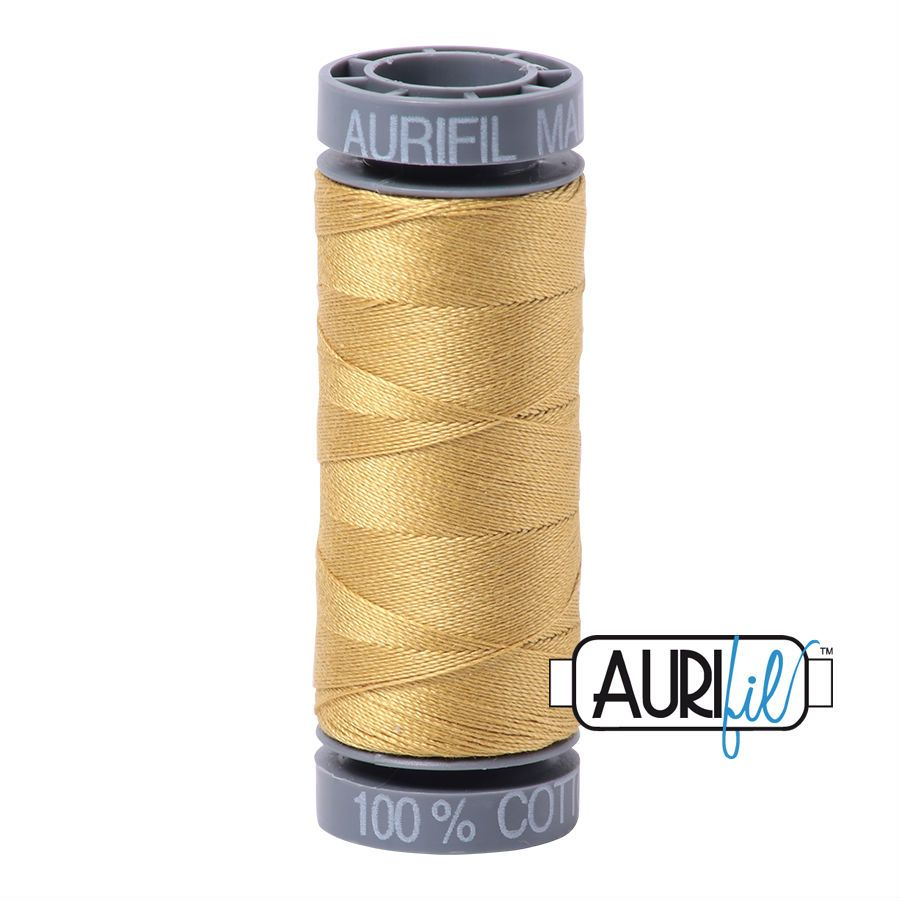 Aurifil Cotton 28wt, 2920 Light Brass