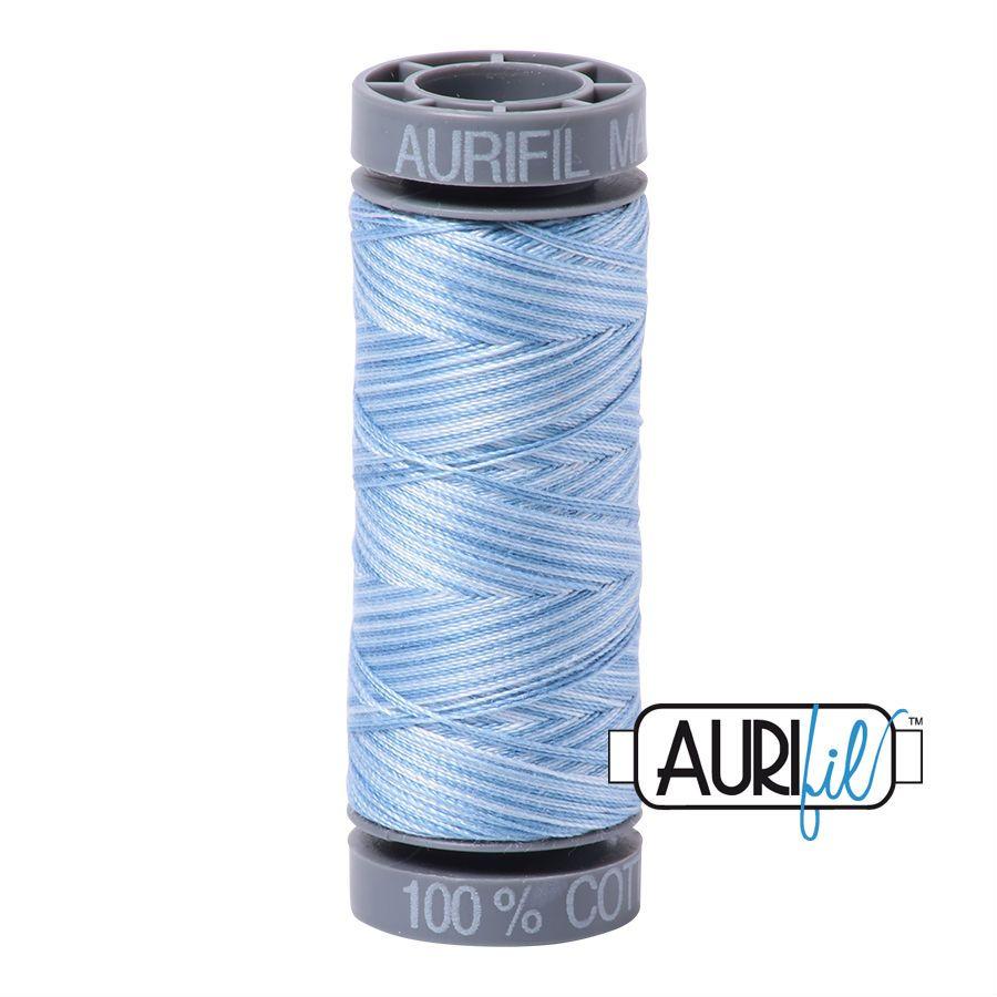 Aurifil Cotton 28wt, 3770 Stone Washed Denim