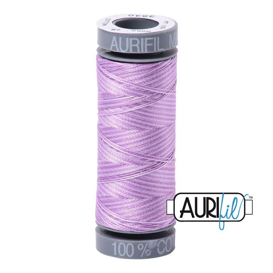 Aurifil Cotton 28wt, 3840 French Lilac