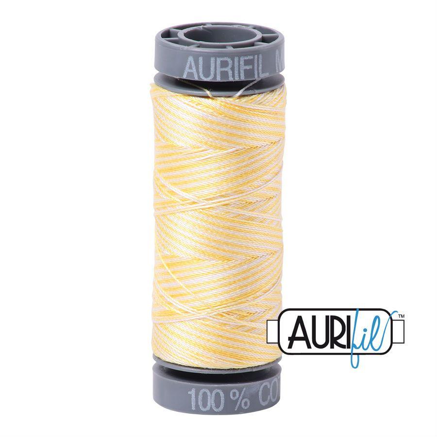 Aurifil Cotton 28wt, 3910 Lemon Ice