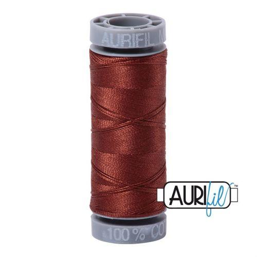 Aurifil Cotton 28wt, 4012 Copper Brown