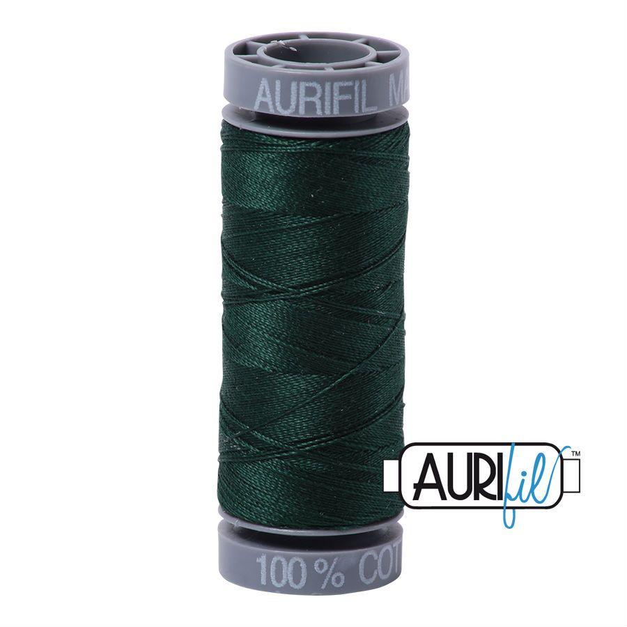 Aurifil Cotton 28wt, 4026 Forest Green