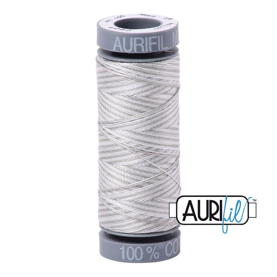 Aurifil Cotton 28wt, 4060 Silver Moon