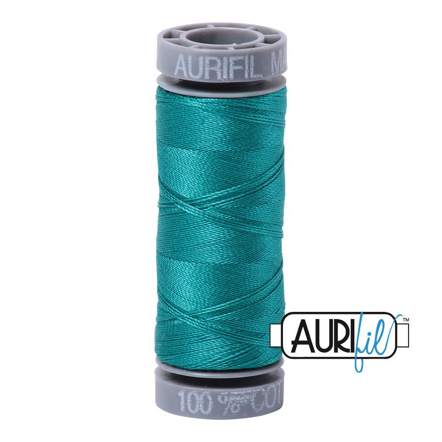 Aurifil Cotton 28wt, 4093 Jade