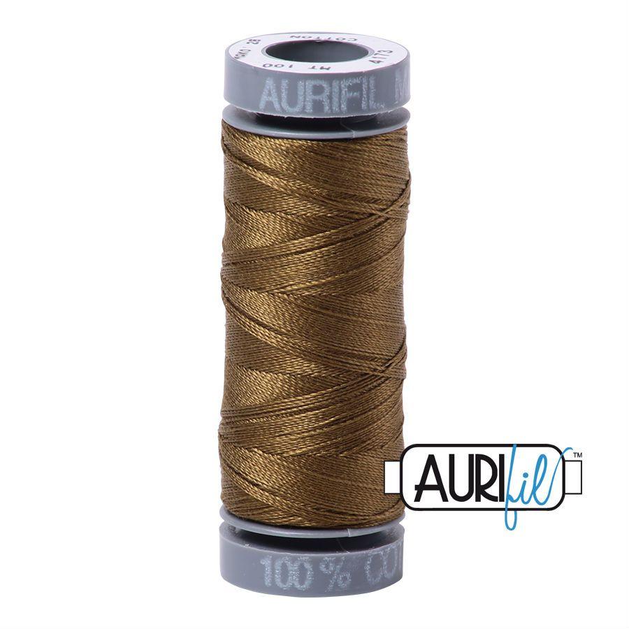 Aurifil Cotton 28wt, 4173 Dark Olive