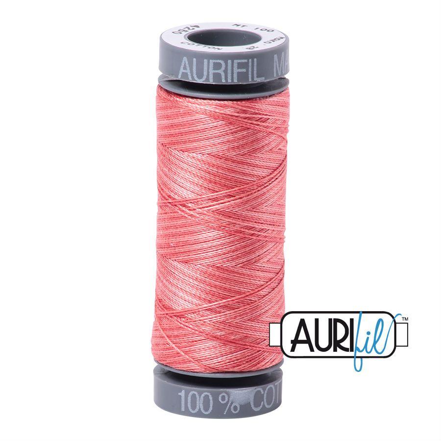Aurifil Cotton 28wt, 4250 Flamingo