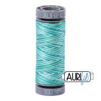 Aurifil Cotton 28wt, 4654 Turquoise Foam