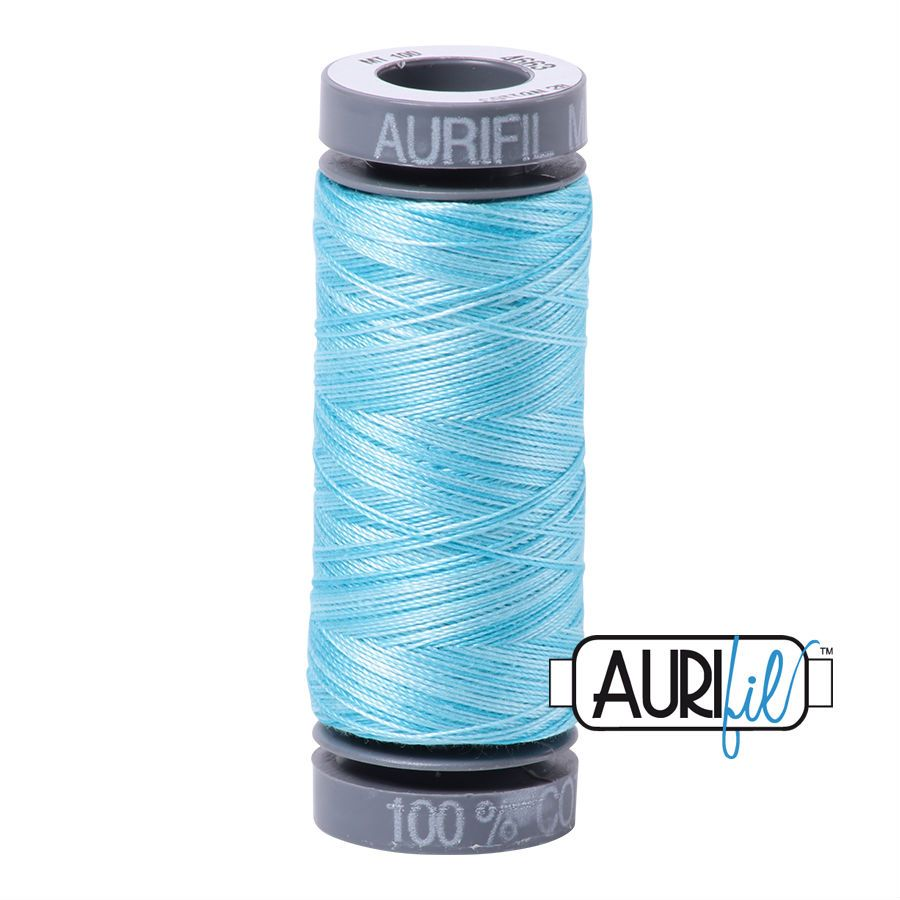 Aurifil Cotton 28wt, 4663 Baby Blue Eyes