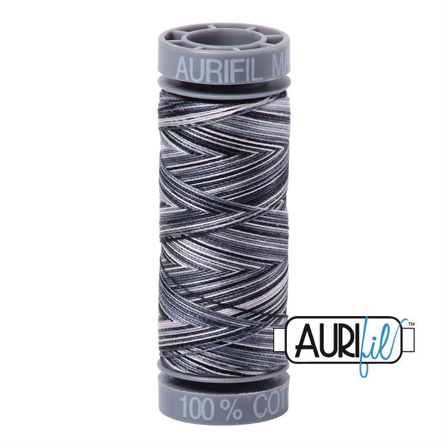 Aurifil Cotton 28wt, 4665 Graphite