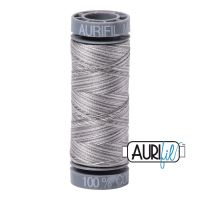 Aurifil Cotton 28wt, 4670 Silver Fox