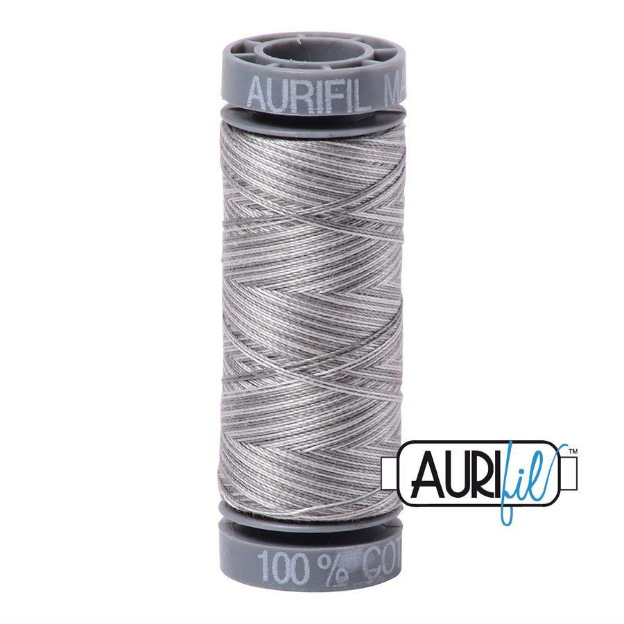 Aurifil Cotton 28wt, 4670 Silver Fox