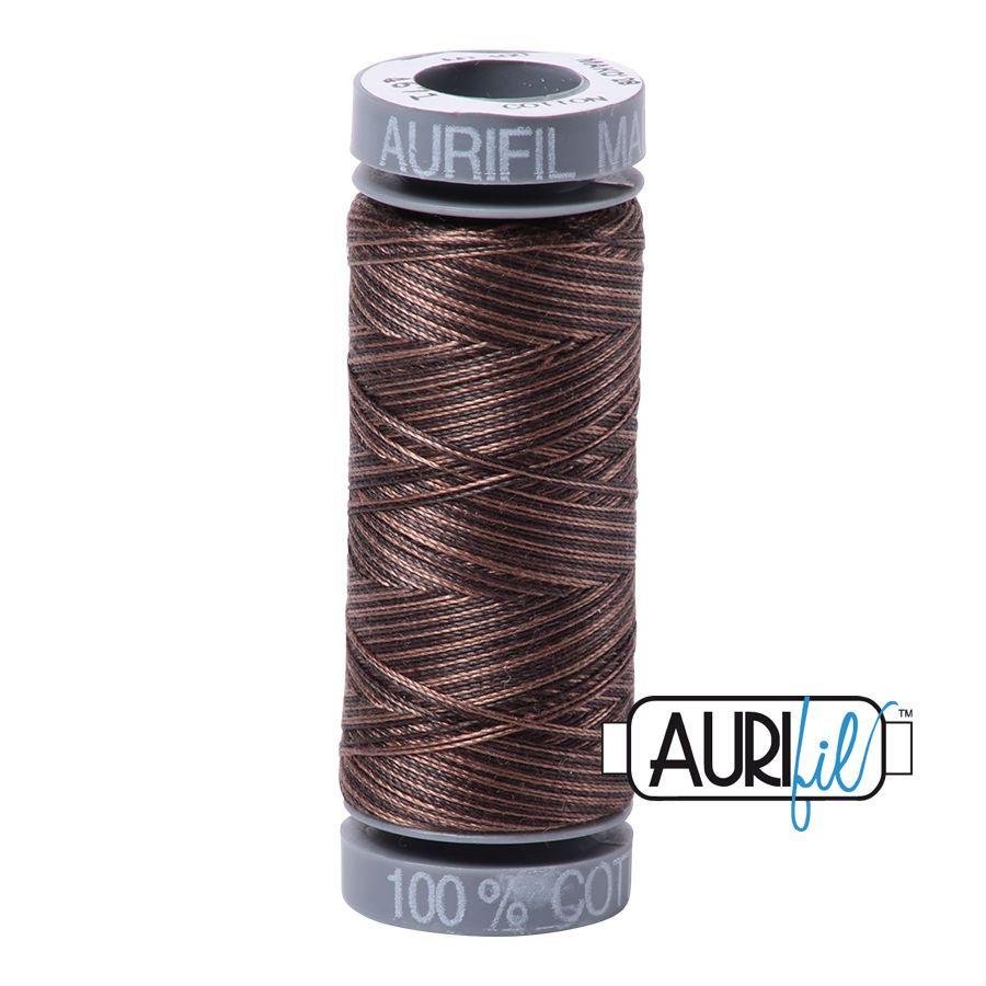 Aurifil Cotton 28wt, 4671 Mocha Mousse