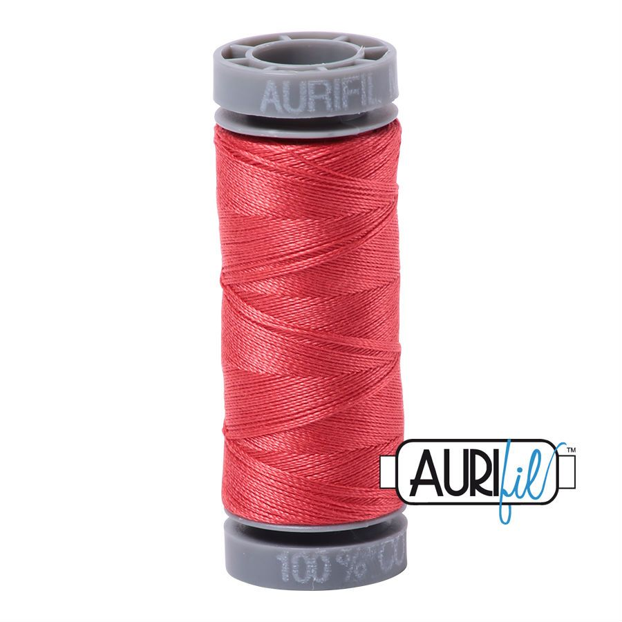 Aurifil Cotton 28wt, 5002 Medium Red